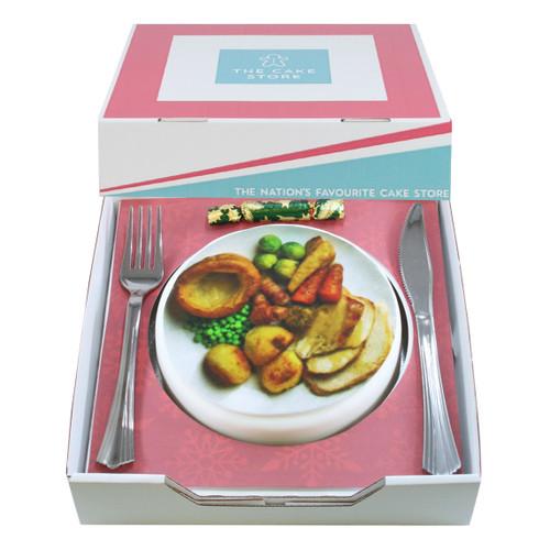 Christmas Dinner Gift Cake