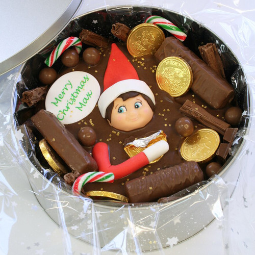 Christmas Elf Cake In-A-Tin