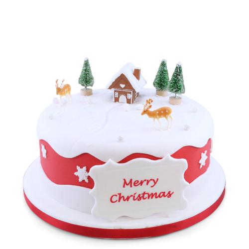 Christmas Hideaway Cake