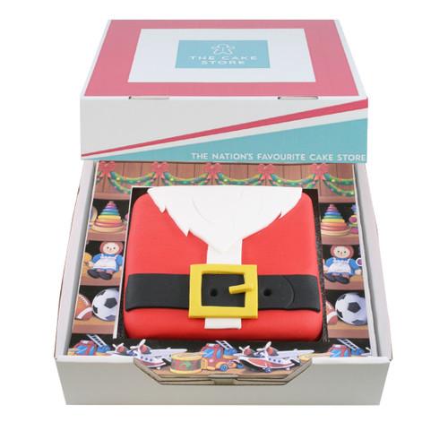 Mr Claus Gift Cake