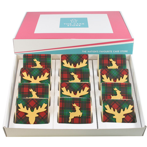 Golden Stag Christmas Cookies
