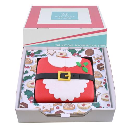 Mrs Claus Gift Cake