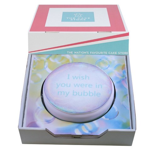 Be In My Bubble Gift Cake