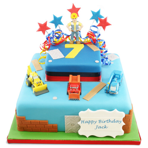 Bob The Builder Two~Tier Cake