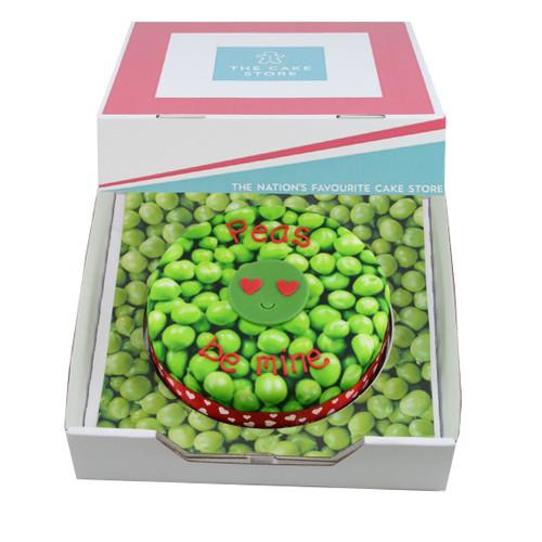 Peas Be Mine Gift Cake