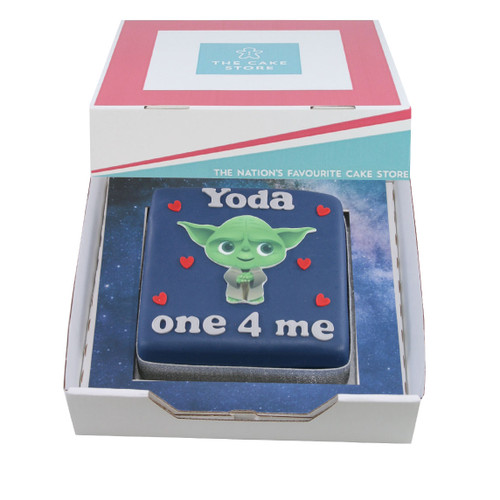Yoda One For Me Gift Cake