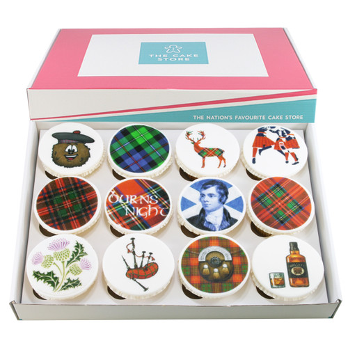 Burns Night Cupcakes
