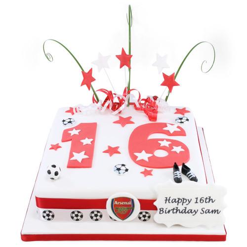 Football Team Number Cake