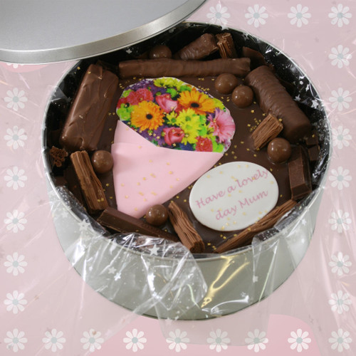 Bouquet Flowers Cake In-A-Tin