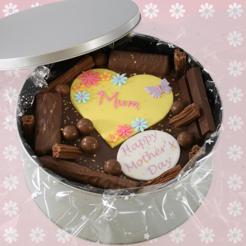 Hearts & Flowers Cake In-A-Tin