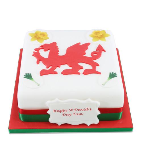 St David's Day Cake