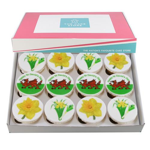 St David's Day Cupcakes