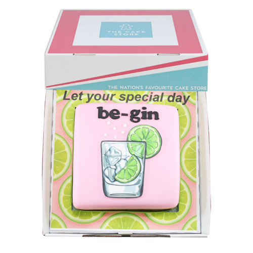 Let Your Day Be-Gin Gift Cake