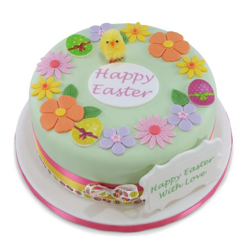 Easter Springtime Cake