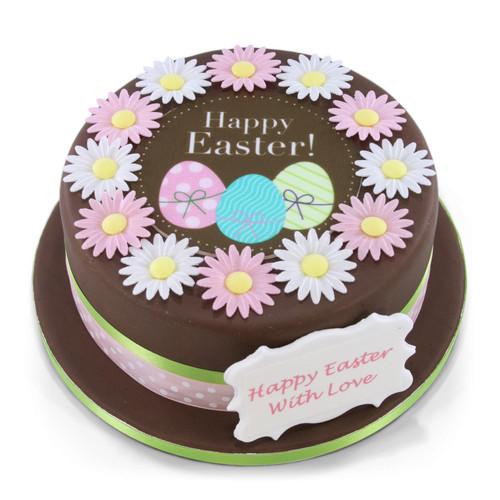 Spring Flowers Easter Cake