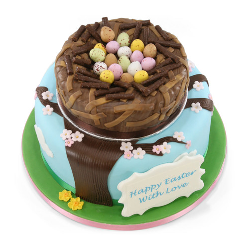 Easter Nest Two~Tier Cake