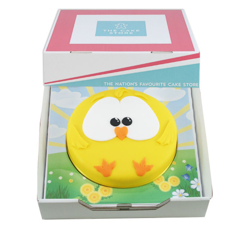 Easter Chick Gift Cake