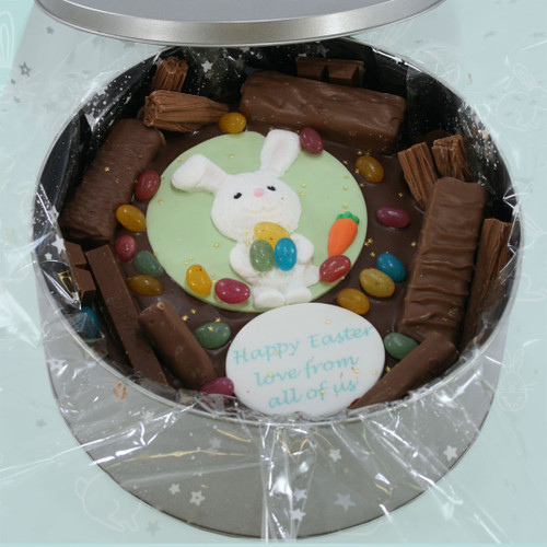 Easter Bunny Cake In-A-Tin