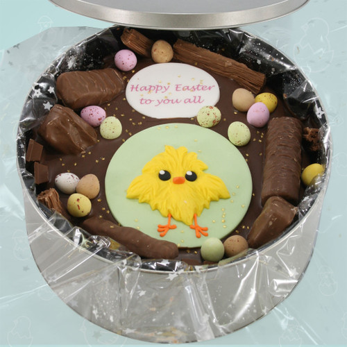 Easter Chick Cake In-A-Tin