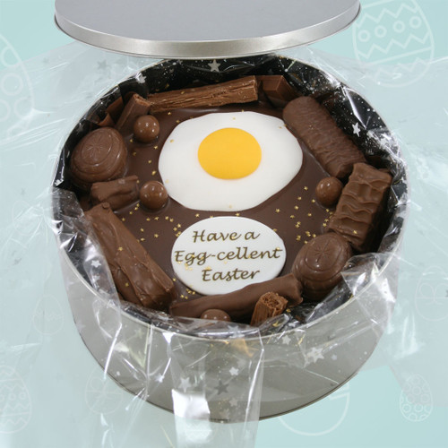 Egg-cellent Easter Cake In-A-Tin