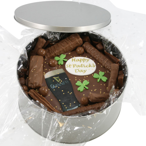 St Patrick's Day Cake In-A-Tin