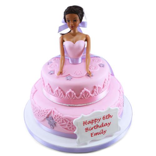 Pretty Princess Two~Tier Cake