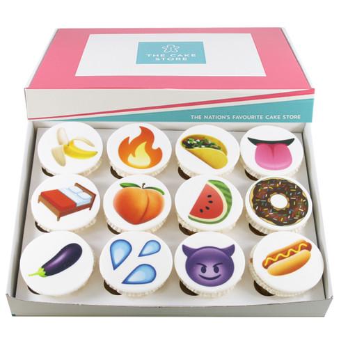 Sexy Emoji Cupcakes