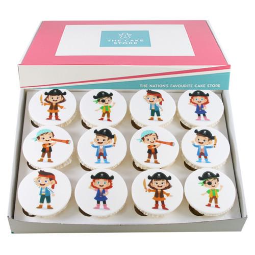 Mini Pirates Cupcakes