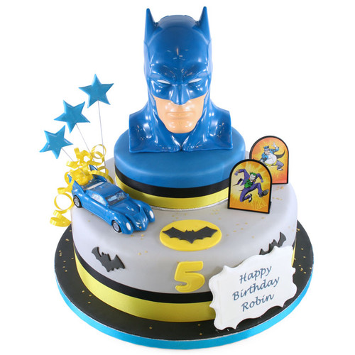 Batman Two~Tier Cake