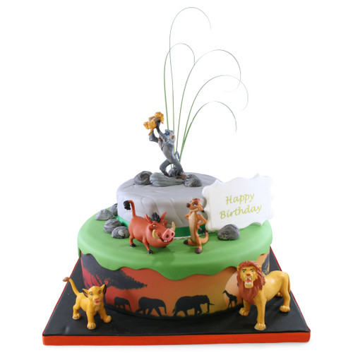 Lion King Two~Tier Cake