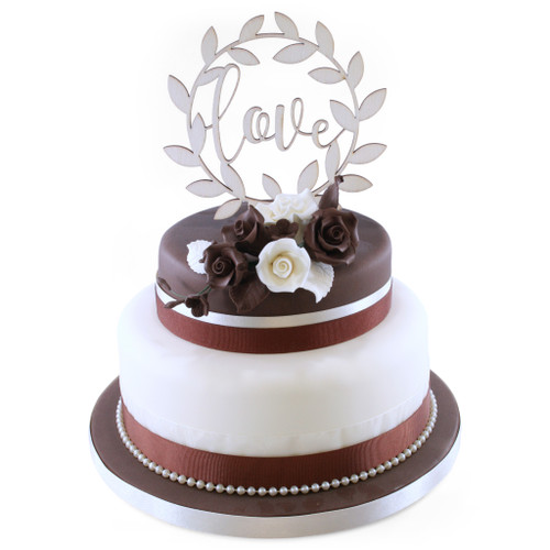 Celebration of Love Two~Tier Cake