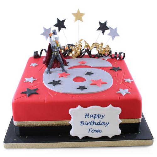 Thor Number Cake