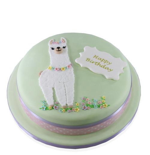 Alpaca Cake