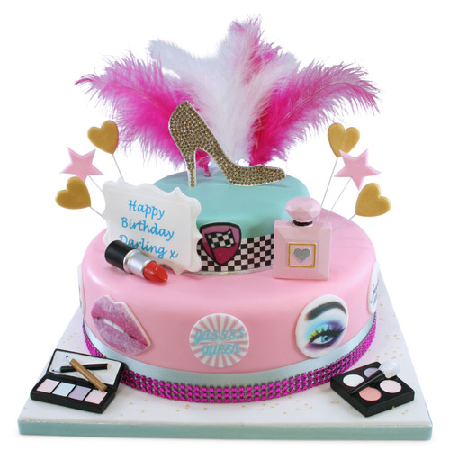Drag Queen Cake