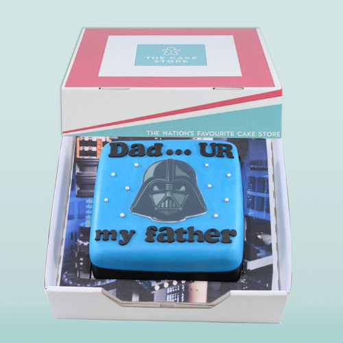 Darth Vader Father Gift Cake
