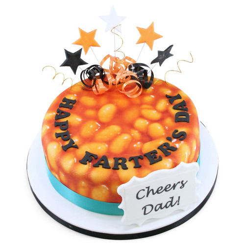 Happy Farters Day Cake