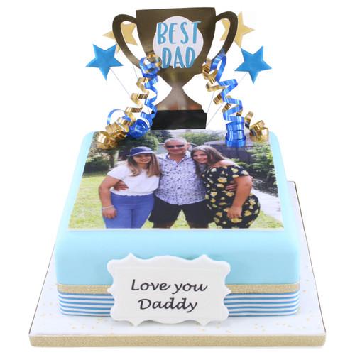 Best Dad Photo Cake