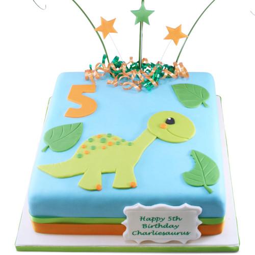 Little Dinosaur Cake
