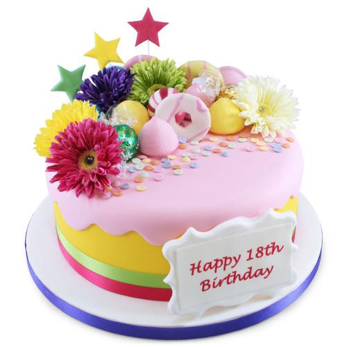 Gerberas Cake
