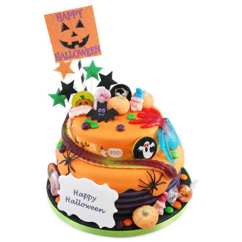 Happy Halloween Two~Tier Cake