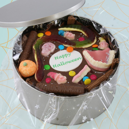 Trick or Treat Cake In-a-Tin