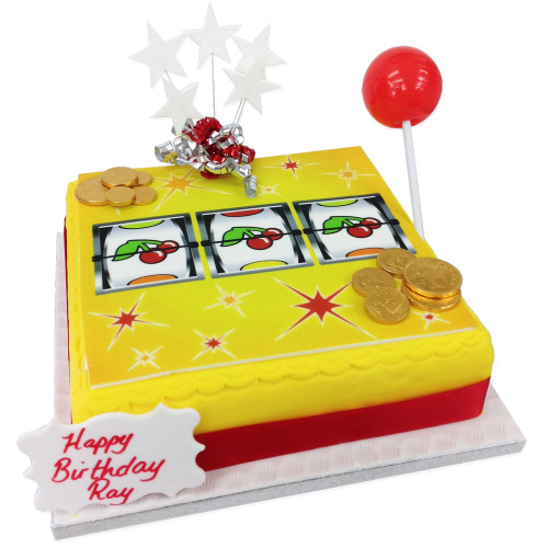 Fruit Machine Cake