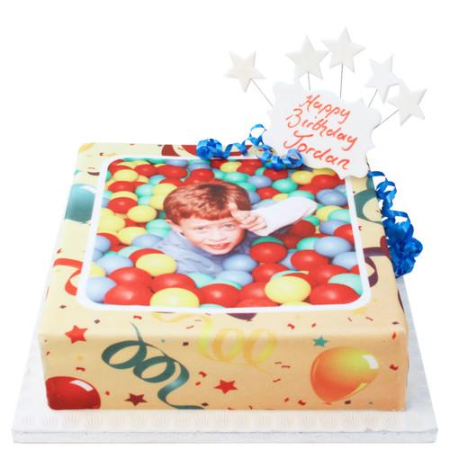 Party Photo Cake