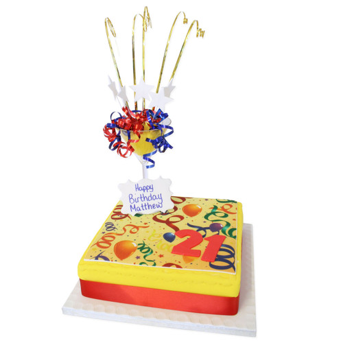 Number Birthday Cake