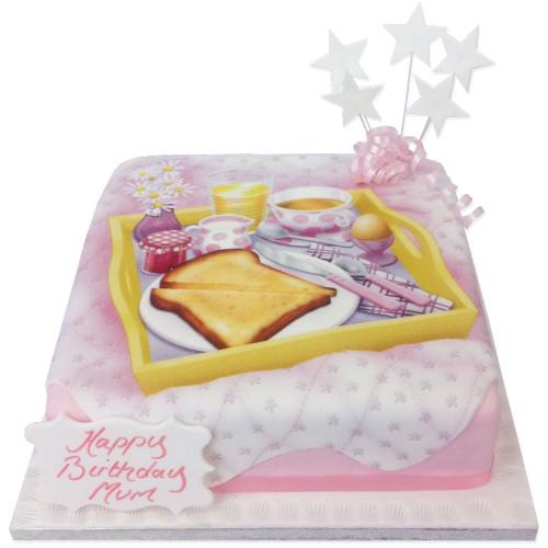 Breakfast in Bed Cake