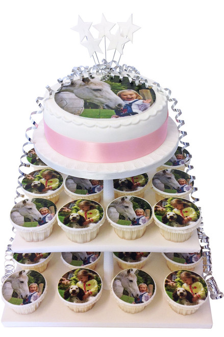 Photo Cupcake Tower
