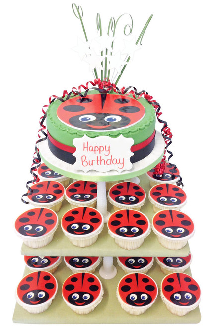 Ladybird Cake Tower