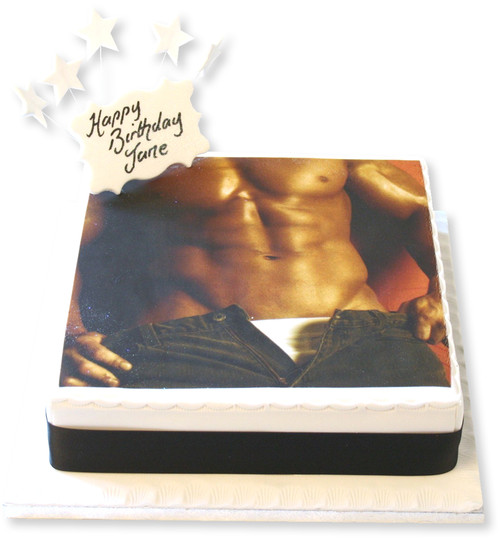 Male Torso Cake