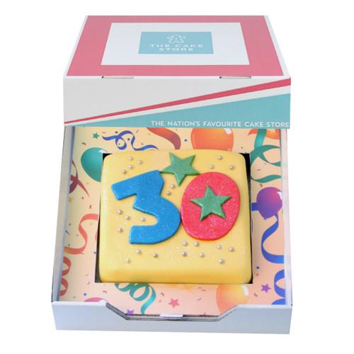 Birthday Age Gift Cake