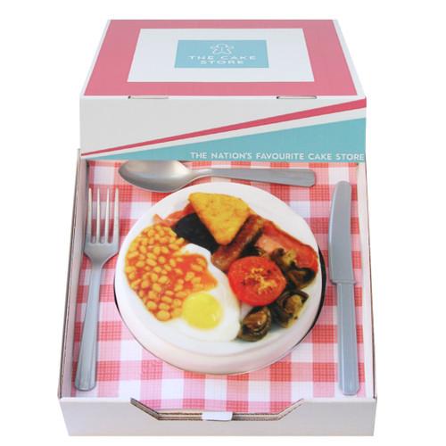 Breakfast Gift Cake
